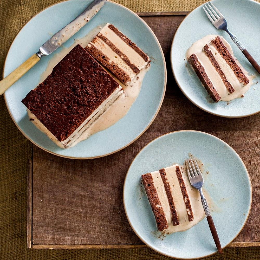 ICE  CREAM  SANDWICH  CHOCOLATE  TERRINE  CAKE