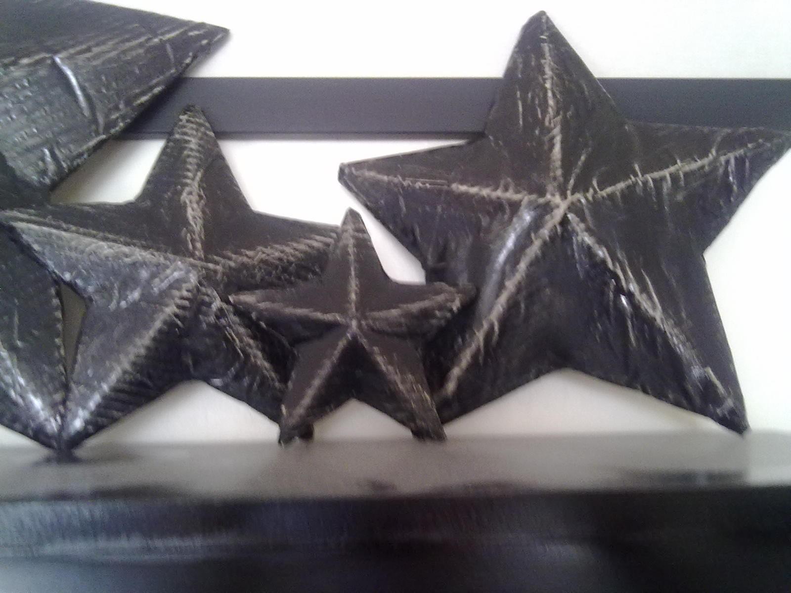 Faux Tin Star (cardboard)