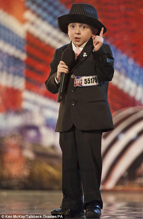 Britain's Got Talent 2011: Mini crooner Robbie Firmin, seven, stuns the judges with his Frank Sinatra cover
