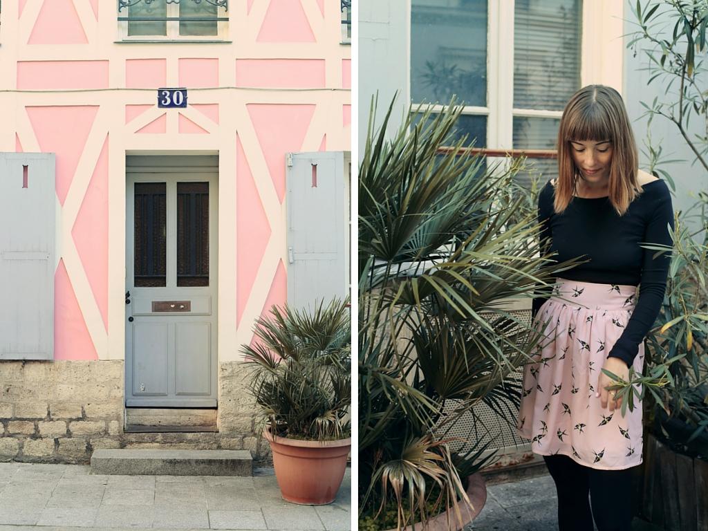Les Petites Jupes de Prune, rue Crémieux, Paris Isabelle Hardy
