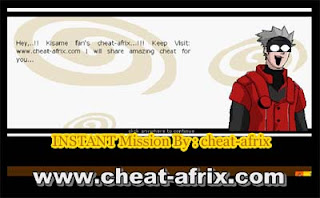Cheat Instant Mission Ninja Saga Grade A New Update