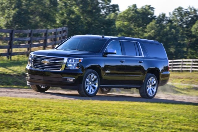 Chevrolet Announces 2015 Tahoe & Suburban Z71 Features