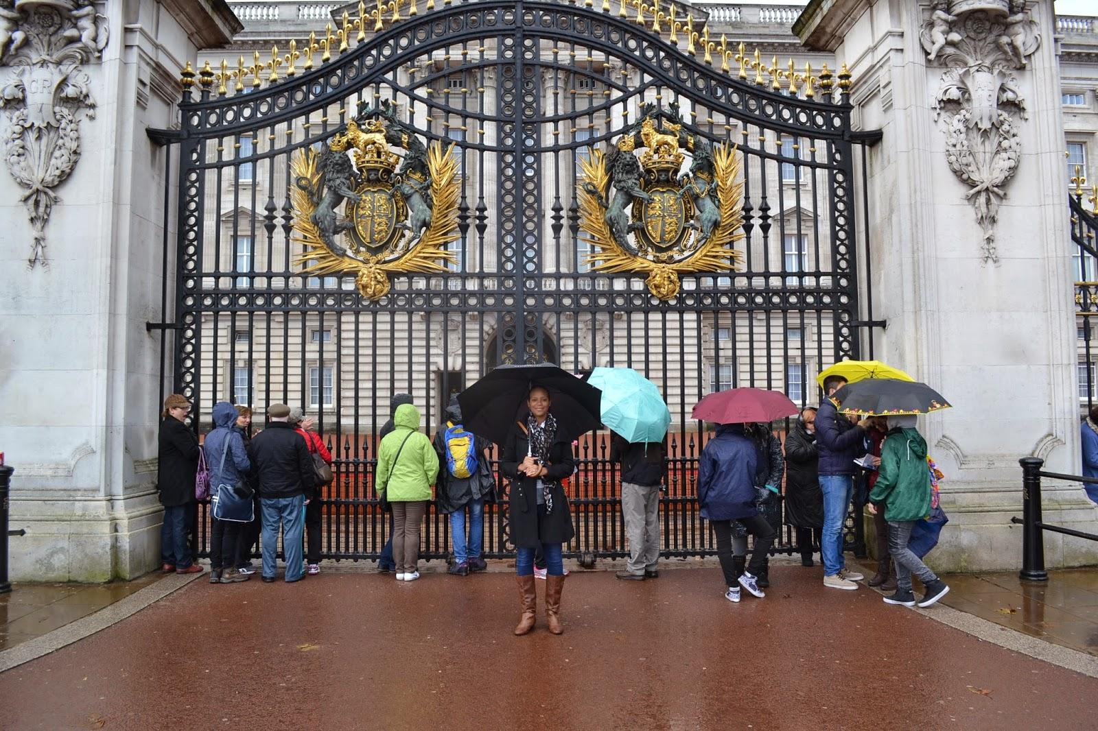 Buckingham Palace honeymone in London