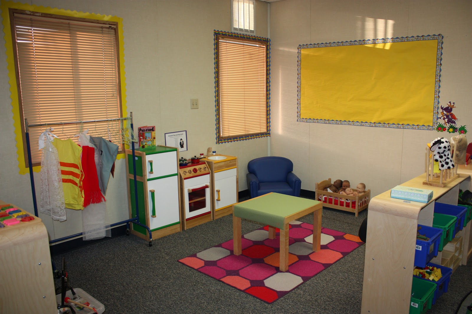 Preschool Classroom Set Up on safe house floor plans