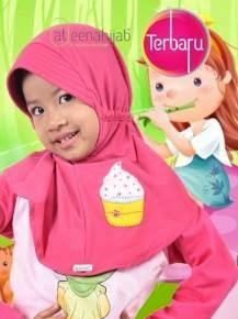 jilbab hijab bergo anak syar'i lucu cantik murah