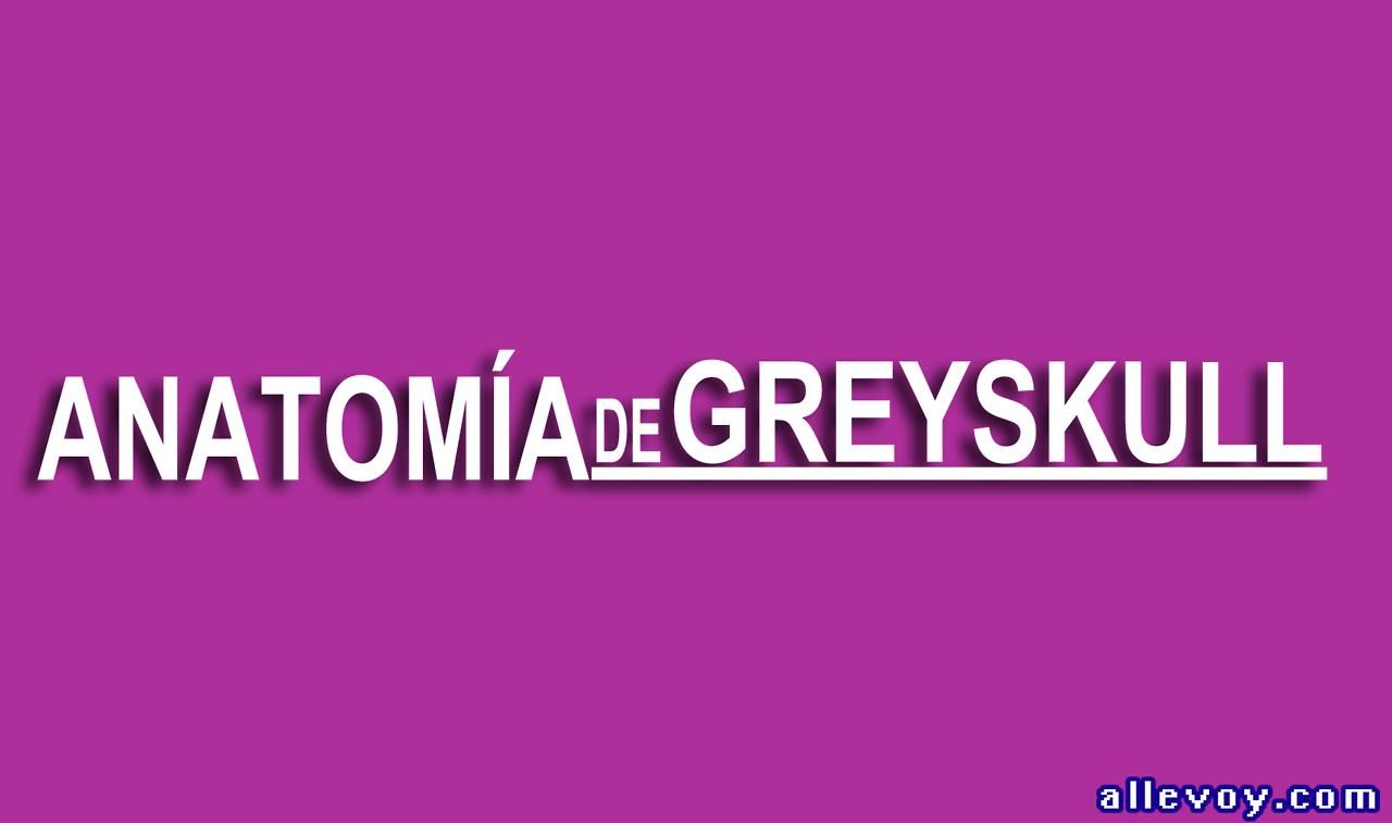 Anatomía de Greyskulll