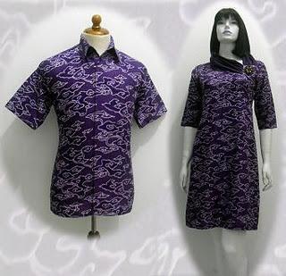baju batik wanita terbaru