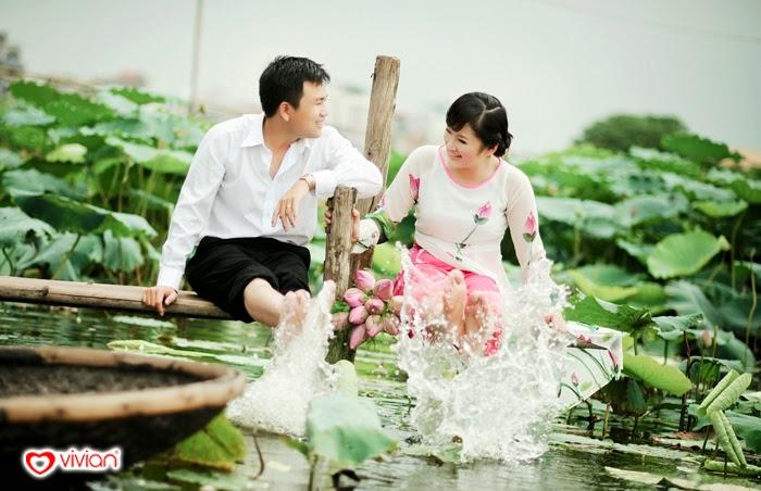Đầm sen hồ Tây - Địa điểm chụp ảnh đẹp ở Hà Nội