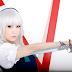 Koyuki Cosplay Photography as Sakuya Izayoi