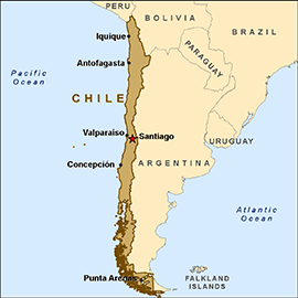 Tsunami Melanda Perairan Chile Akibat Gempa Bumi 8.2 Magnitud
