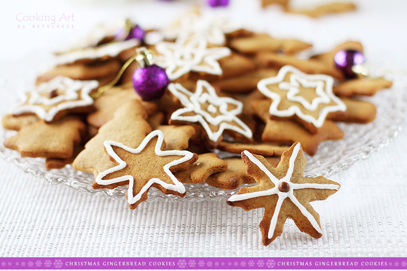 Polish Gingerbread Cookies Pierniczki Cooking Art By Betelgeze