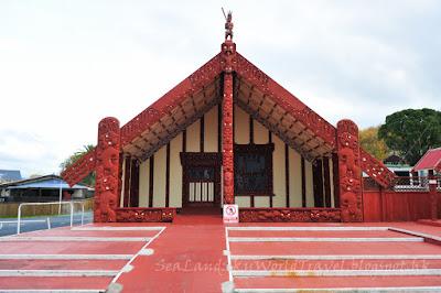 Rotorua, 羅托魯亞, living maori village