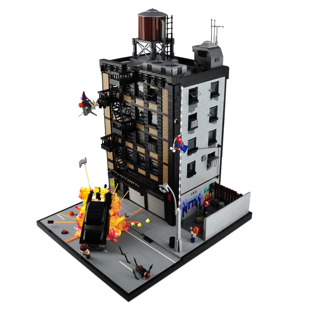 DeToyz Shop Lego MOC Spider Man Vs Green Goblin