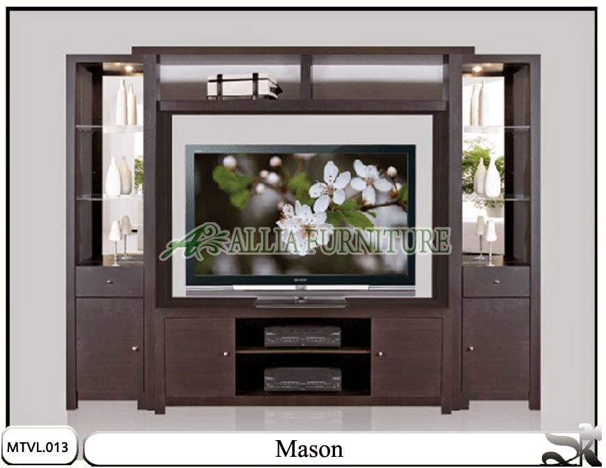 rak tv lcd minimalis mason allia furniture meja rias jati minimalis ...