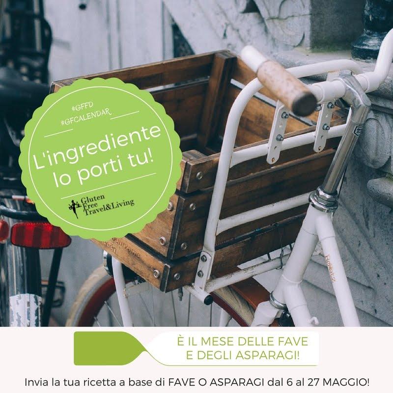 partecipo al #GFCalendar del mese di maggio  di Gluten Free Travel & Living