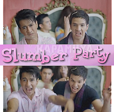 Markki Stroem plays a gay role in comedy-satire movie Slumber Party