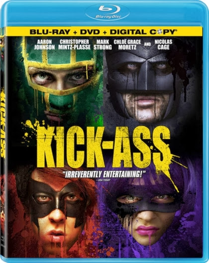 Kick Ass 2010 BRRip 480p 300mb ESub