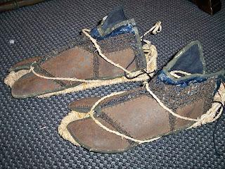 calzado de un samurai