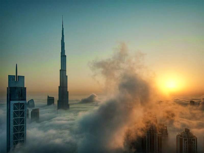 Rascacielos en Dubai, Catalin Marin