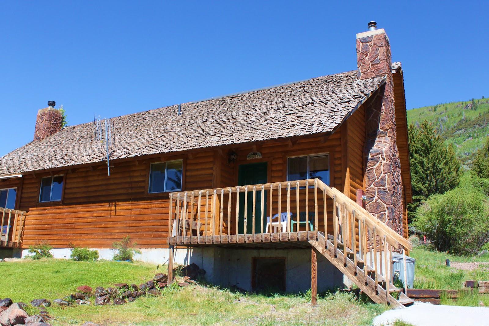 Rental cabins at fish lake utah aspen 8 person deluxe for Fishing cabin rentals