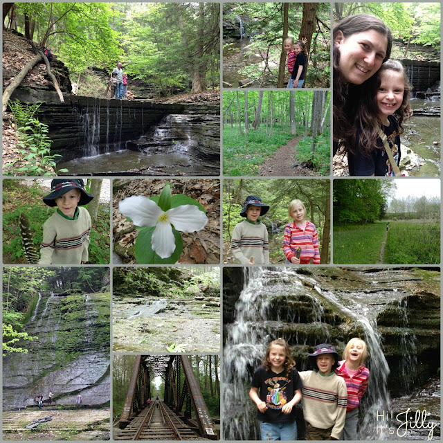 Lick Brook Falls in Ithaca, NY | Hi! It's Jilly