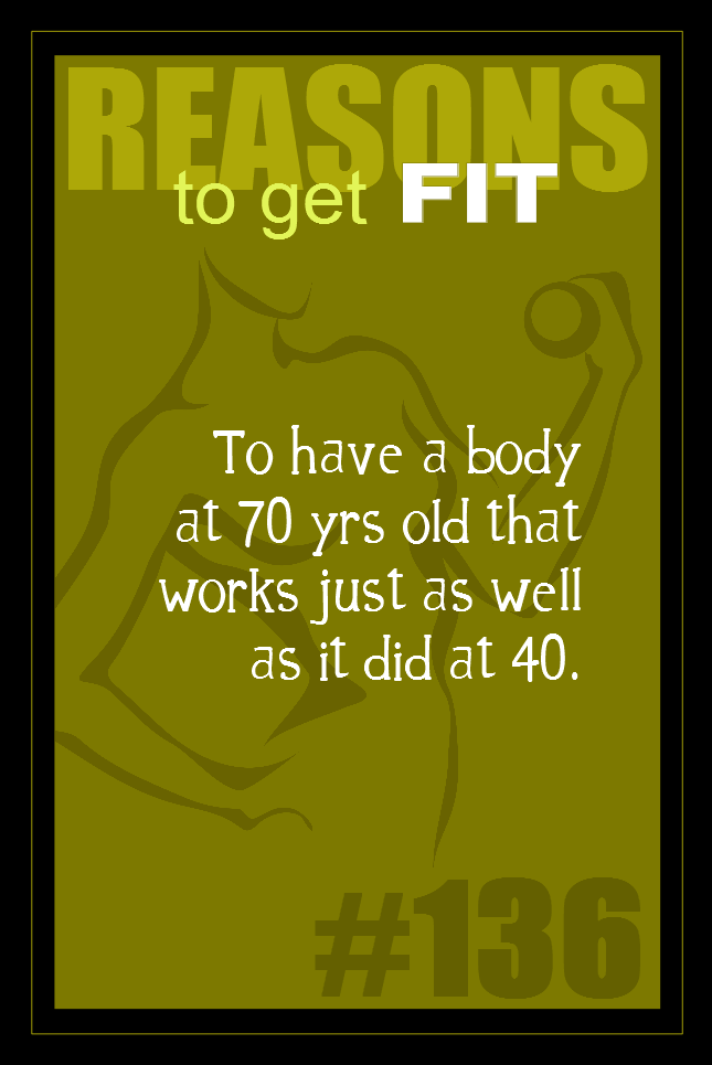 365 Reasons to Get Fit #136