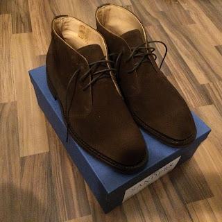 holborn kengät sävytyksen jälkeen