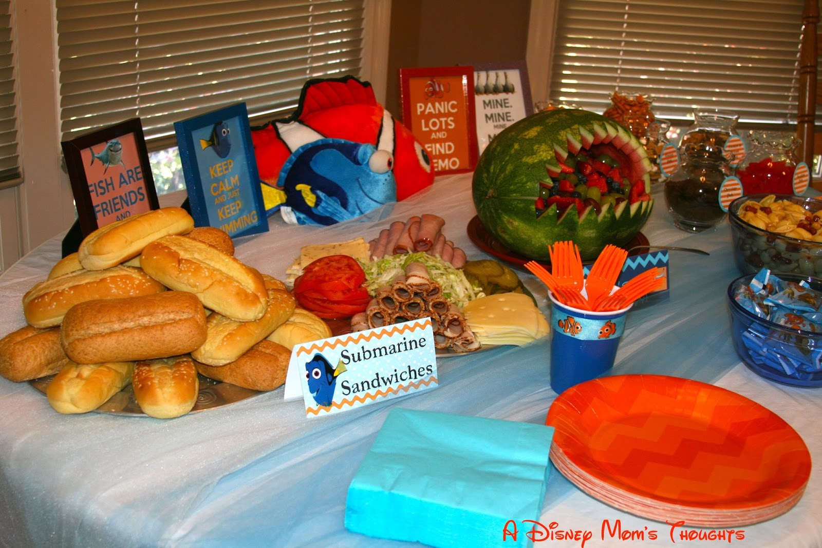 Finding Nemo Birthday Party Archives | A Disney Mom\'s Thoughts