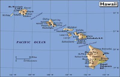 Honolulu mapa