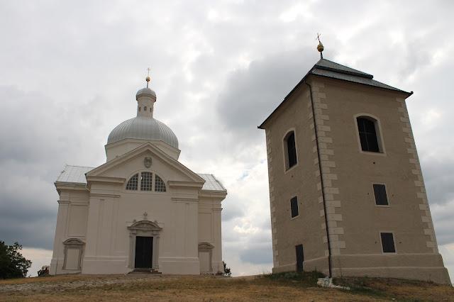 Kaple sv. Šebastiána a zvonice // St. Sebastian Chapel and bell tower