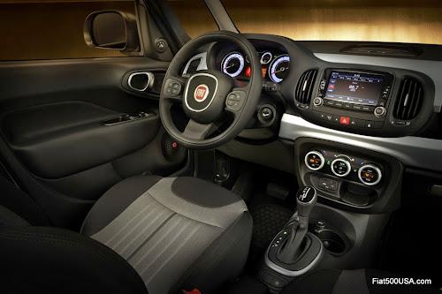 Fiat 500L Urbana Trekking Interior