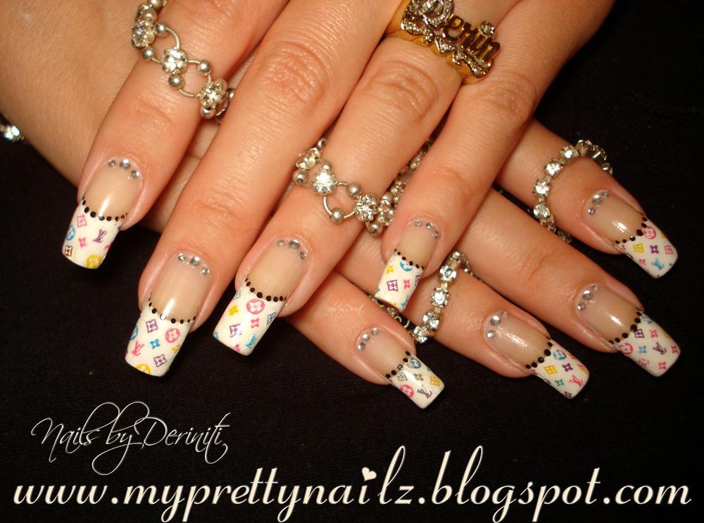 Diy french tip nail designs