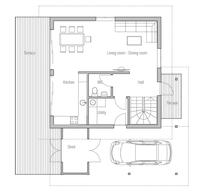 affordable home plans: affordable home plan oz43