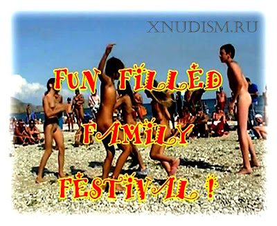 Family nudism Festival Ukrainian nudist beach