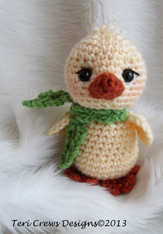 Free Crochet Pattern Easter Chick : Teris Blog: Free Cute Chick Crochet Pattern