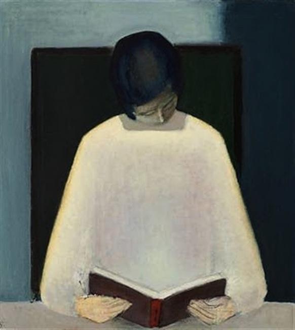 Jarne Gissel. Woman Reading, 1962