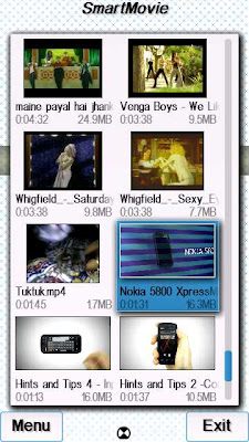 SmartMovie Player on Symbian S60v5 & Symbian^3