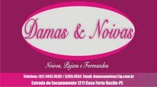Damas & Noivas - Roupas de Aluguel