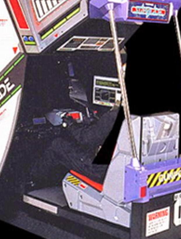 Starblade - arcade game by Namco