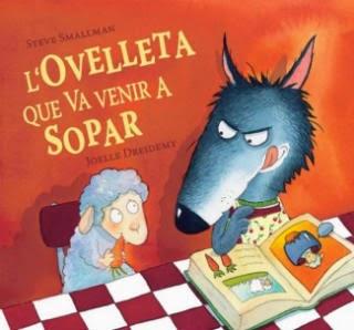 Llibre infantil l'ovelleta que va venir a sopar