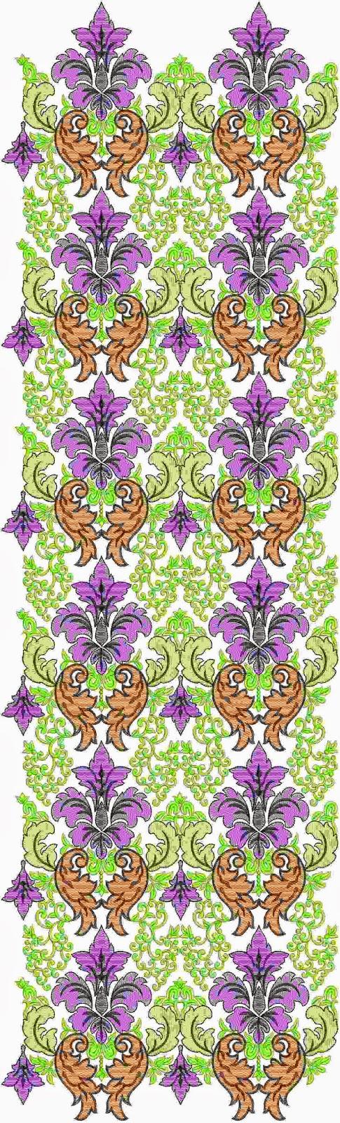 Marokkaanse Oral borduurwerk patroon