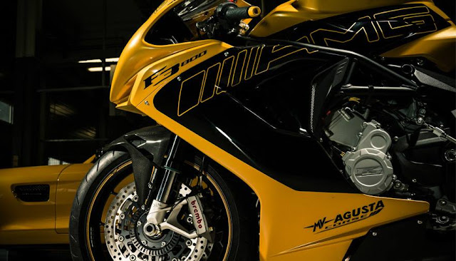 Foto New Motor MV Agusta Buatan Italia