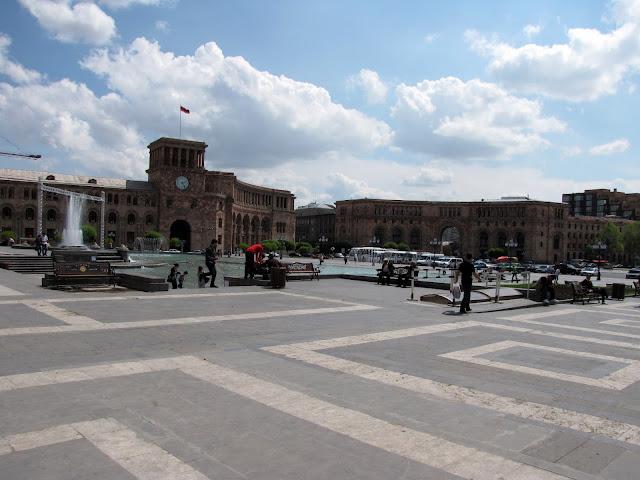 Armenia, Yerevan - plaza de la República