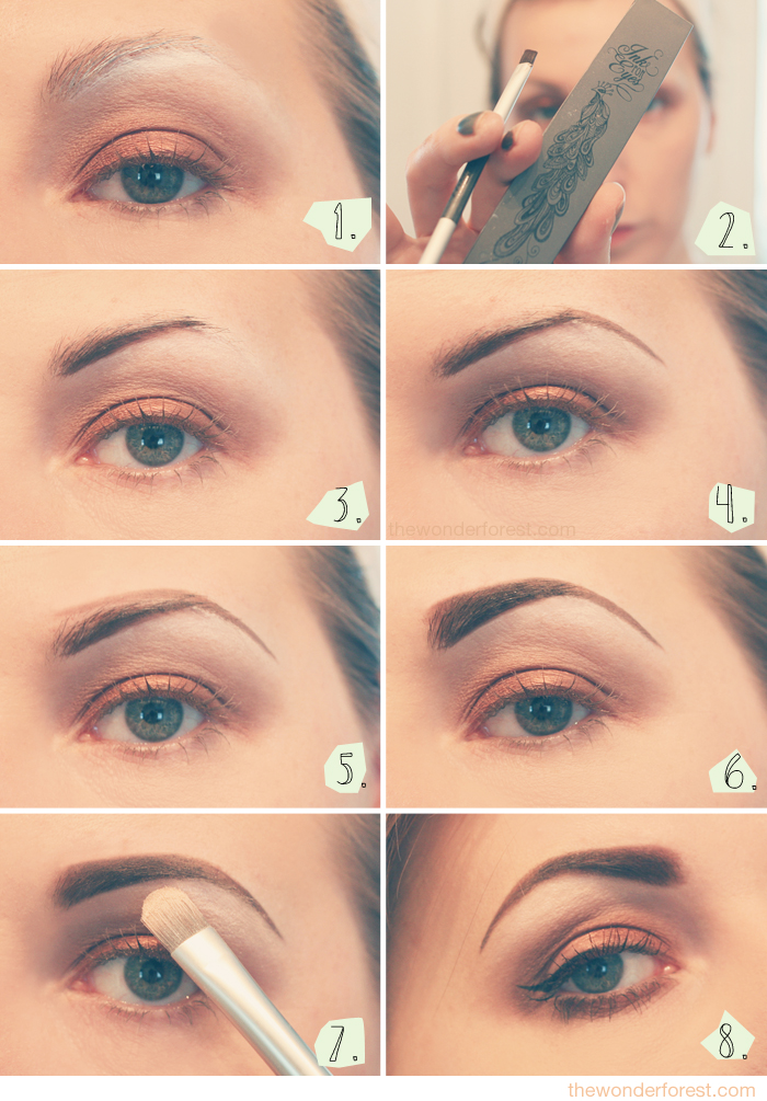 Eyebrow Tutorial How I Fill My Brows Wonder Forest