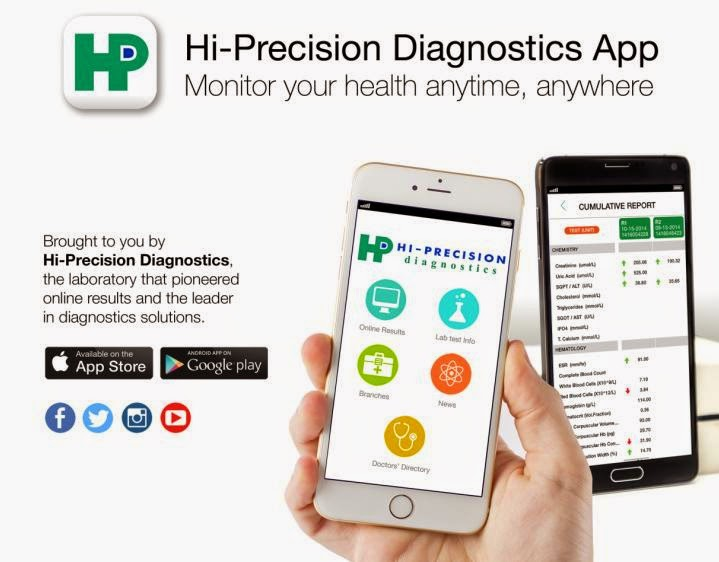 Hi-Precision Diagnostics Launched Medical App for iOS and Android