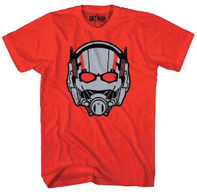 "Previews Exclusive Marvel's Ant-Man Movie T-Shirt Collection - ""Ant-Head"""