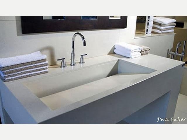 A espera do meu primeiro apê MármoreGranitoSilestoneNanoglass -> Cuba Banheiro Silestone
