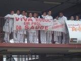 voluntários da VIVA alunos do Colégio 24 de Março no Céu Jd. Paulistano SP