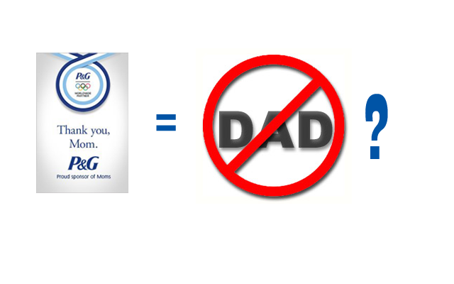 Procter & Gamble Sponsor Moms, Not Dads