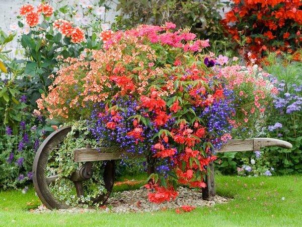 Cosas para compartir adornos para bellos jardines for Jardines bellos fotos